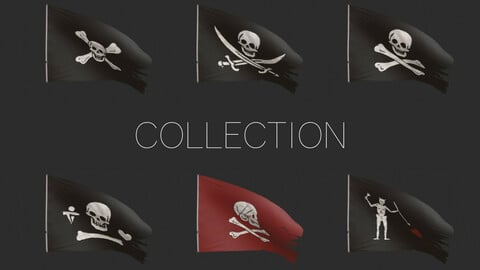 Pirates Flags Collection