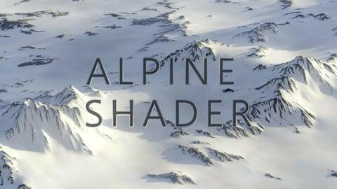 Blender Alpine Shader Setup