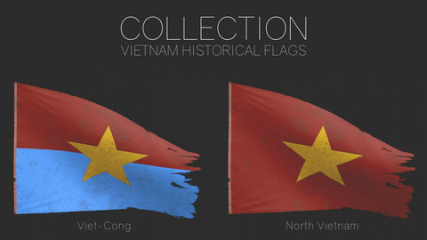 Vietnam Historical Flags