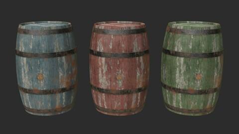 Wooden Barrels Assets 4