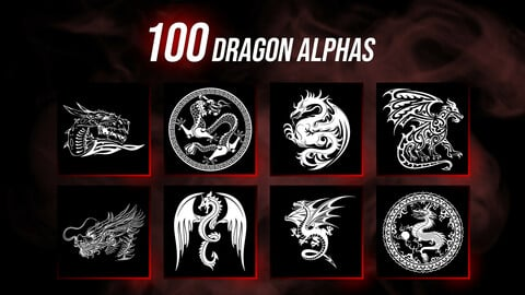 100 Dragon Alphas