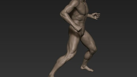 Male Full Body Sculpt Pose 8