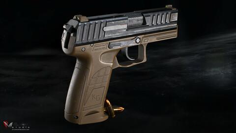 PMS KG19 Pistol & Knife