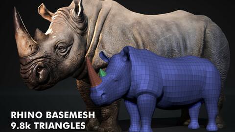 Rhinoceros Basemesh