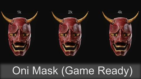 Oni Mask (Game Asset)