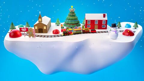 Winter and Christmas Season