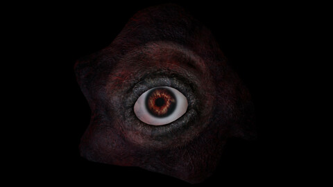 Devil Eye - Horror Prop Animated