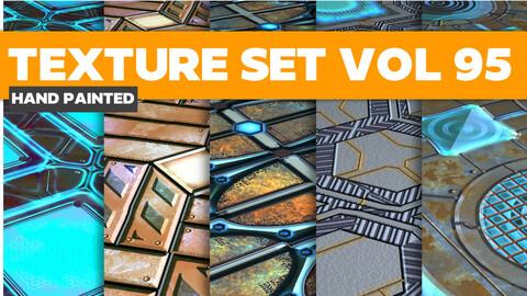 Scifi Vol.95 - PBR Textures