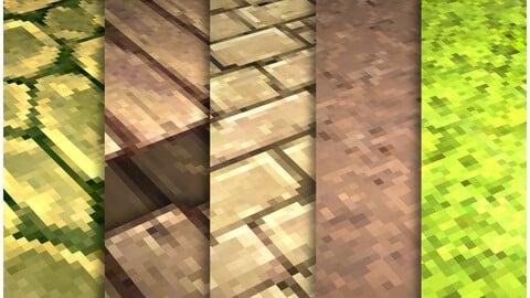 Pixel Vol.100- PBR Textures