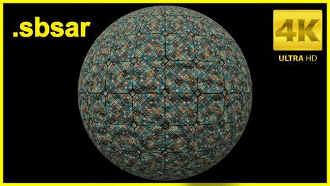 Tile Material Design V3 / Substance Painter / Sbsar