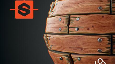 Substance Designer Tutorial - Stylized Wood Planks