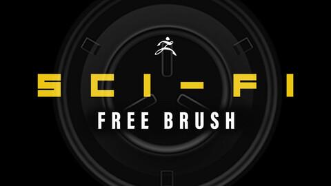 Free Sci Fi Brush