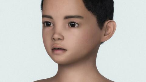 Realistic Male Child