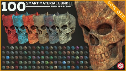 100 Smart Material Bundle + Tutorial + Unique Materials