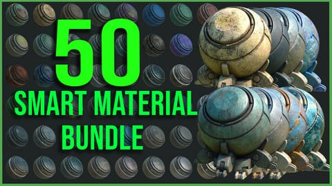 50 High Quality Metal Smart Material Bundle