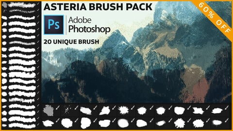 Adobe Photoshop ABR Brush Pack