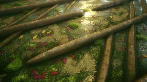 Fantasy Forest Slamp - Substance Designer Graph (SBS)
