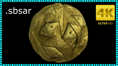 Abstract Material Design - 16 / Sbsar / Substance Painter
