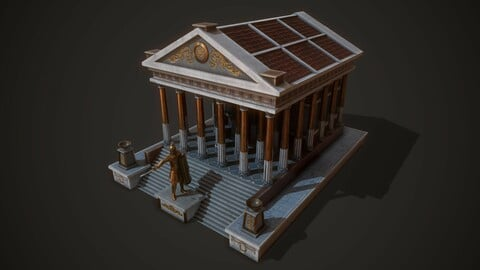 Ancient Temple Mars