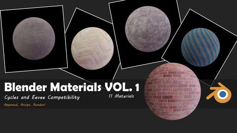 Blender Materials Vol. 1