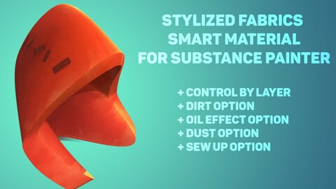 Stylized Fabrics  Smart material for substance painter