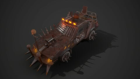 Apocalyptic Vehicle car 2