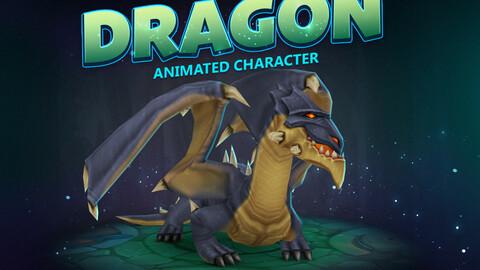 Dragon animated character