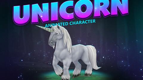 Unicorn animated character