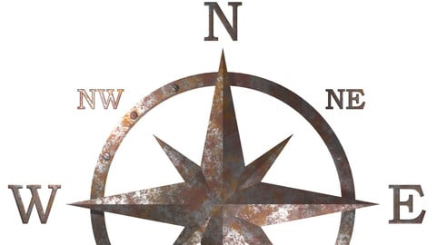 Windrose Compass Graphic Pack