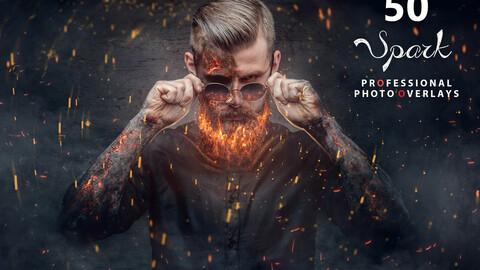 50 Halloween Spark Photo Overlays