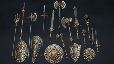 Fantasy Weapons Pack