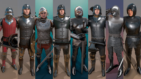 Medieval Knights Pack - 2