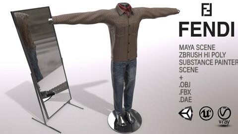 Male FANDI Clothing