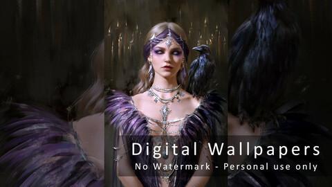 Sorceress - Digital wallpapers