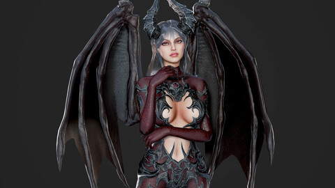 Succubus - Game Ready