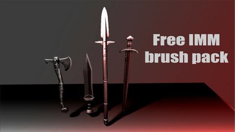 IMM brush pack (weapons)