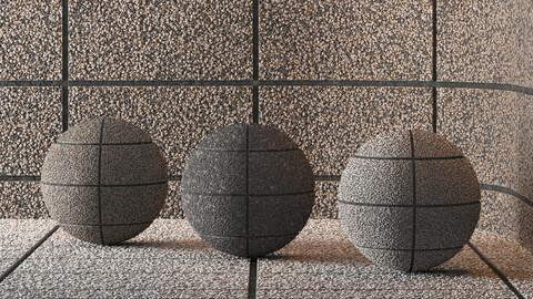 Hemase Mat 03 | Exposed Aggregate Concrete | 3 Colors