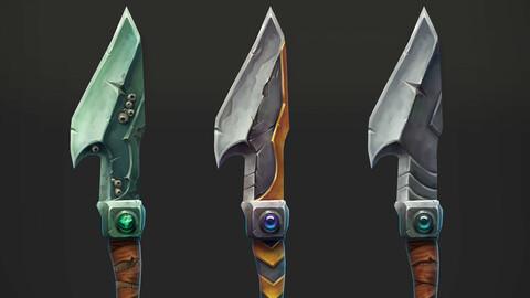 Stylized Daggers