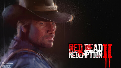 poster red dead redemption 2 game
