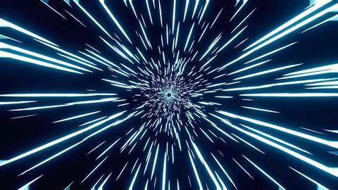 Star Wars Warp Effect