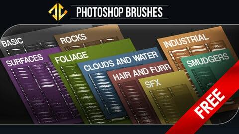 Photoshop Painting Brushes FREE