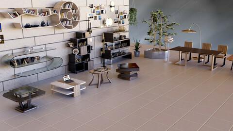 Modern Furniture 3D Pack (.fbx - .obj - .blend)