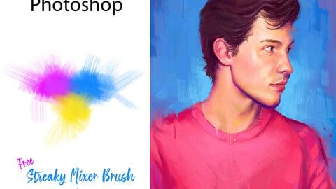 Free Mixer Brush by Sundeepartist - Photoshop