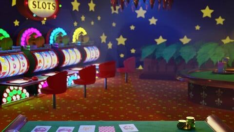 Luigi's Casino REMAKE from Super Mario 64 DS