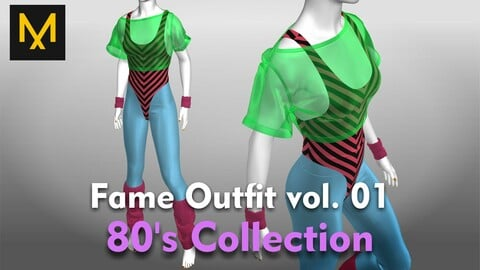 Fame Outfit vol.01 - 80's Collection
