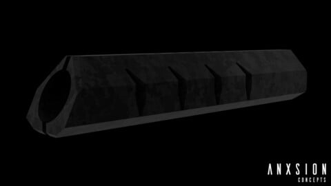 AnxSion Concept ATG G1 Compensator/Muzzle Brake [texture not included]