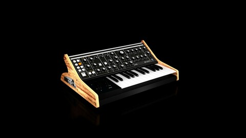Moog Subsequent 25 Analog Synthesizer 3D Modelling 3D model