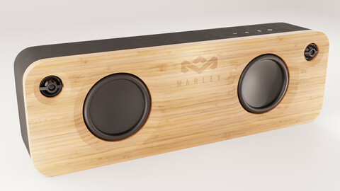 House of Marley Get Together Black Bluetooth Speaker