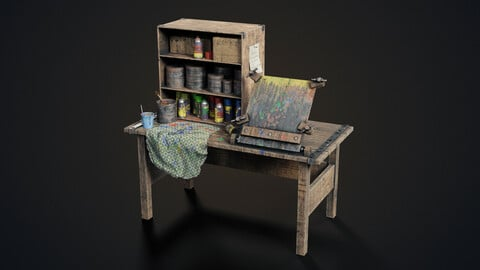 Painting workbench