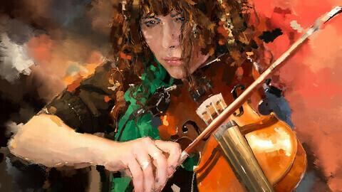 Violine Jazz Jazz